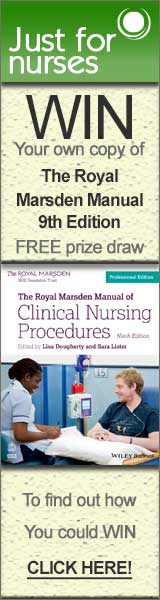 Win The Royal Marsden Manual Free to Enter competition with Just for Nurses